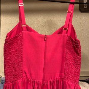 Amanda Uprichard Dresses - 100% silk bright pink dress
